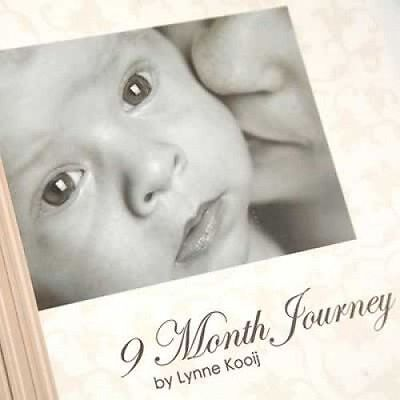 9 Month Pregnancy Journal - Keepsake - DIARY