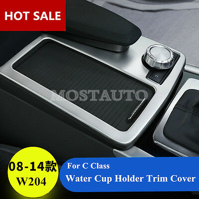 For Benz C Class W204 2008-2013 Inner Center Water Cup Holder Frame Cover 1pcs