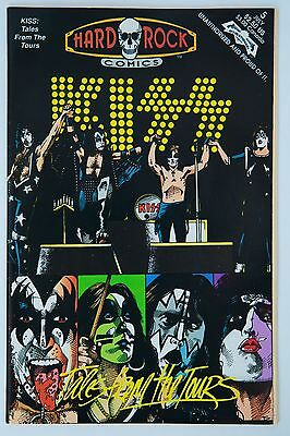 Hard Rock Comics: Kiss Tales From The Tours #5 July 1992
