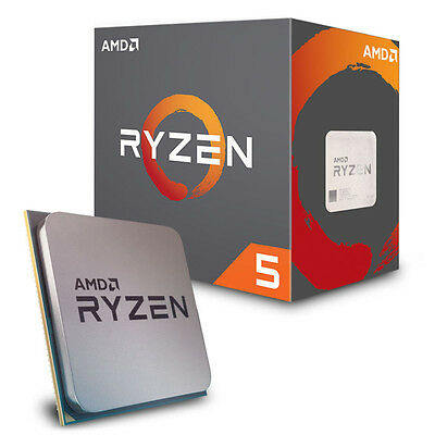 AMD Ryzen 5 1600 Desktop CPU - AM4/Hex Core/GHz/16MB/65W