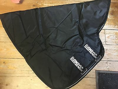 Horseware Rambo Supreme Turnout Hood Neck Cover 150g Fill. (AAASN1) RRP £54.99