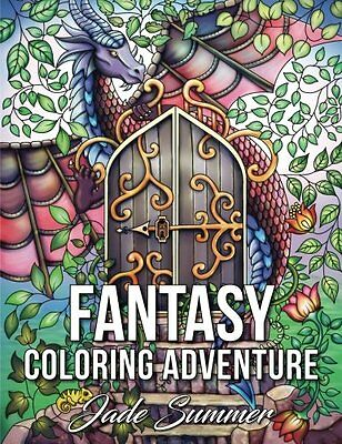 MALBUCH für ERWACHSENE Fantasy Coloring Adventure: A Magical Adult Coloring Book