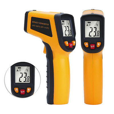 Temperature Gun Non-contact Infrared IR Laser Digital Thermometer -50~+600℃