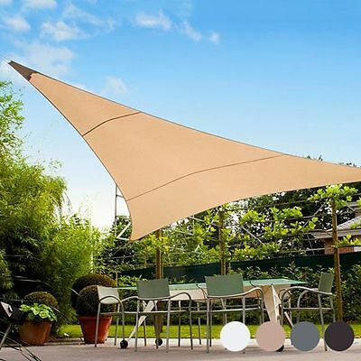 Voile D'ombrage Triangulaire / Triangular Shade Sail 5M