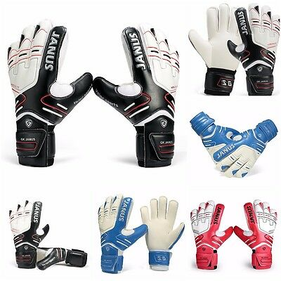 Brand Professional Goalkeeper Gloves Finger Protection Thickened Latex Soccer US
