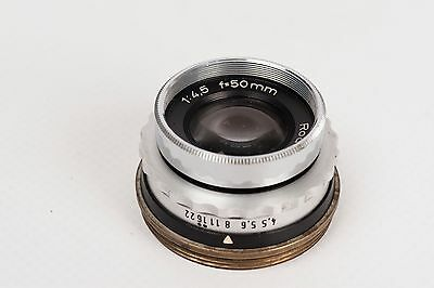 Enlarger Lens Rodenstock -Trinar 50mm 1:4,5  39mm Ø mount READ DESCRIPTION