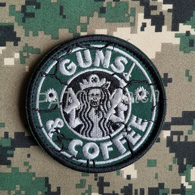 Star Wars Coffee Army Tactical Patches Morale Badge Embrodiered Hook Patch *01