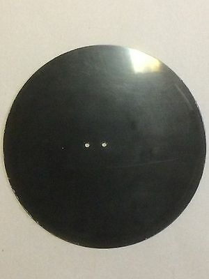 """12"""" Twin Hole  Blank Vinyl Records QTY of 10"""