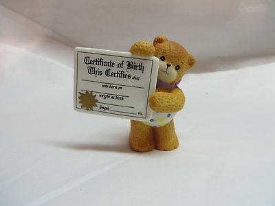 1993  Lucy and Me Bears ~ Birth Certificate Bear