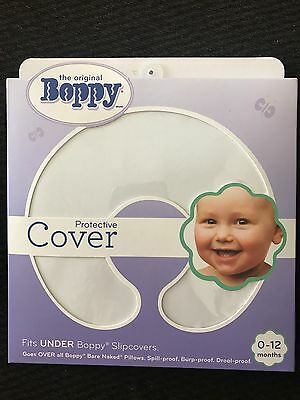 Boppy Protective Cover - Brand New White