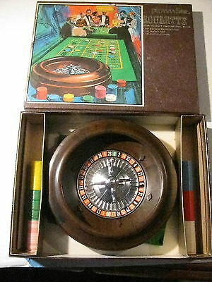 "Vintage Pleasantime Roulette Professional Style 83/8"" Diameter Balanced Wheel"