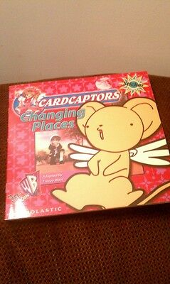 CARDCAPTORS Sakura Changing Places w/stickers Manga Paperback Book