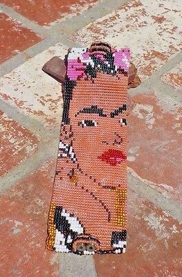 Frida Kahlo Colorful Czech Bead Bracelet Guatemala Fair Trade W/ Free Shipping