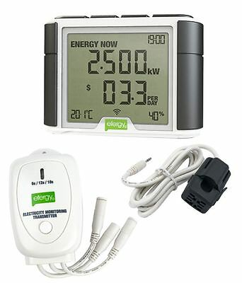 Efergy Elite Classic - Home Wireless Electricity Monitor Single or Three 3 Phase