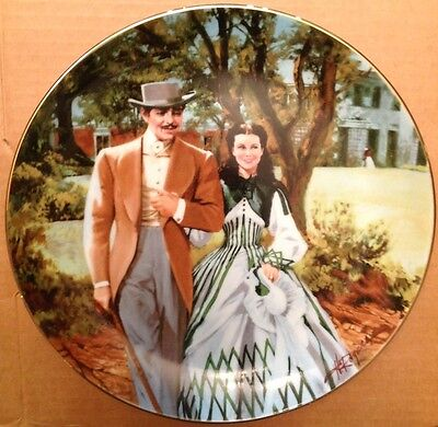 Bradford Exchange /'Lighting the Wind/' Collectible Plate Shining Sentinels