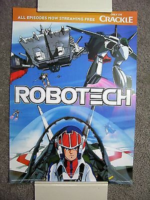 SDCC 2016 Robotech Crackle Poster