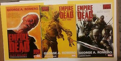 George Romero's Empire of the Dead: Act One,Two & Three Romero, George,
