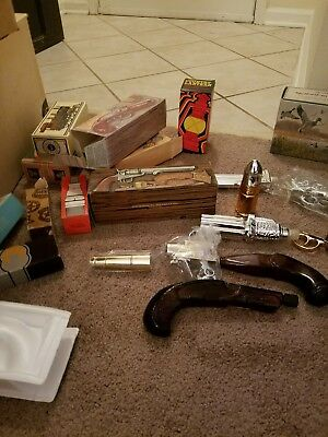 lot of vintage Avon cologne and aftershave bottles