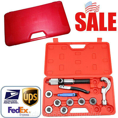 Generic Hydraulic Tube Expander 7 Lever Tubing Expanding Tool Swaging Tools Kit