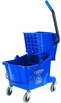 Mop Bucket and Wringer Combo, Carlisle 26 Qt. Heavy Duty Polyethylene, Durable
