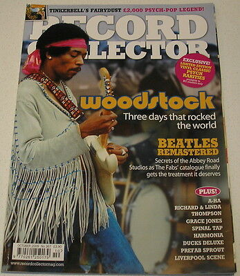 Record Collector (Oct '09): Woodstock/beatles Remasters/richard & Linda Thompson