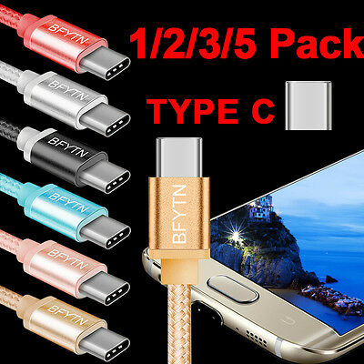 Lot USB C Type C 3.1 Data Charger Charging Cable Cord for Samsung Galaxy S8/Plus