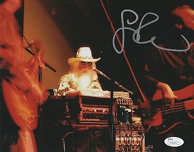 """Leon Russell REAL hand SIGNED 8x10"""" Photo Country Legend JSA COA Autographed #3"""