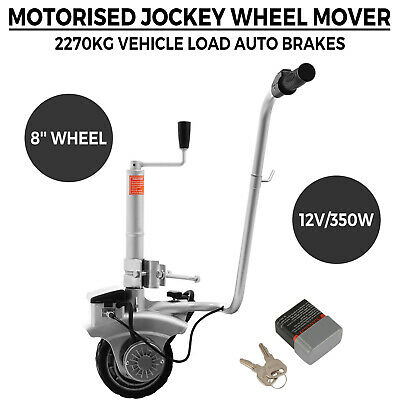 Motorised Trailer Jockey Wheel 12V Mover Electric 2270Kg Dolly 550 Caravan Boat