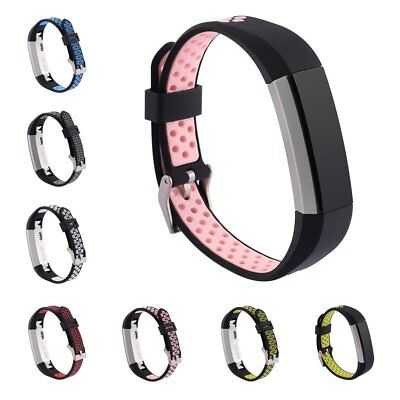 Colorful Soft Silicone Replacement Strap Sport Band For Fitbit Alta/Alta HR UU