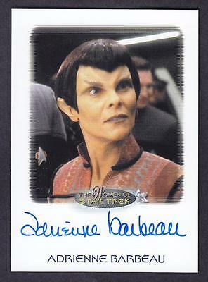 2017 Women Of Star Trek  Autograph / Auto Adrienne Barbeau As Senator Cretak