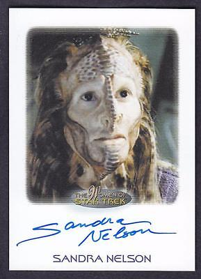 2017 Women Of Star Trek  Autograph / Auto Sandra Nelson As Marayna