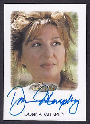 2017 Women Of Star Trek  Autograph / Auto Donna Murphy As Anij