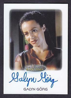 2017 Women Of Star Trek  Autograph / Auto Galyn Gorg As Korena Sisko