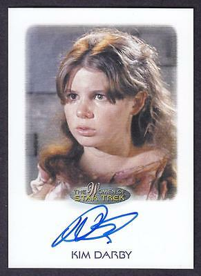 2017 Women Of Star Trek  Autograph / Auto Kim Darby As Miri
