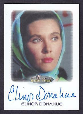 2017 Women Of Star Trek  Autograph / Auto Elinor Donahue As Commissioner Nancy H