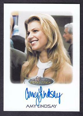 2017 Women Of Star Trek  Autograph / Auto Amy Lindsay As Lana