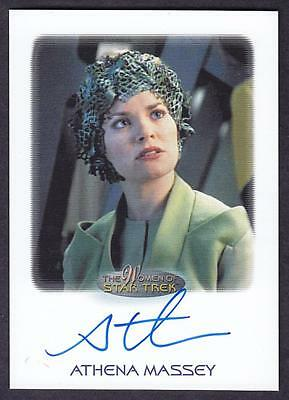 2017 Women Of Star Trek  Autograph / Auto Athena Massey As Jessen