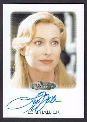 2017 Women Of Star Trek  Autograph / Auto Lori Hallier As Riley Frazier