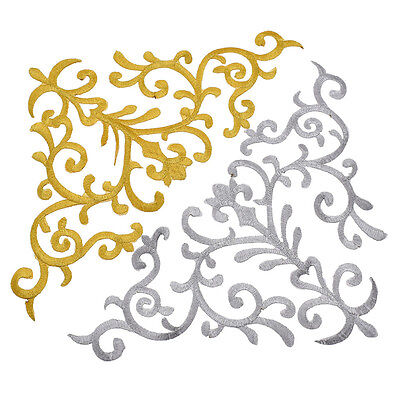 Auspicious Clouds Pyrographic Applique Embroidery Sew Iron On Fabric Decor DIY