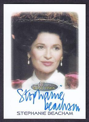 2017 Women Of Star Trek Autograph/auto Stephanie Beacham As Countess Barthalomew