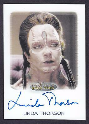 2017 Women Of Star Trek  Autograph / Auto Linda Thorsen As Gul Ocett
