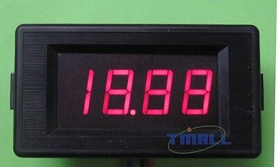3½ DC 20V Red LCD Digital Volt Voltmeter Panel Meter
