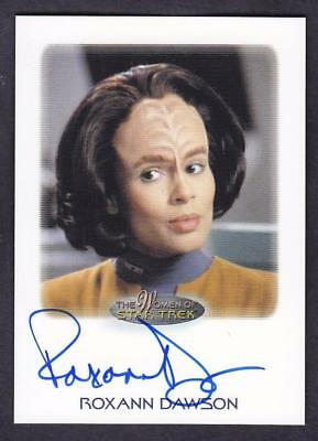 2017 Women Of Star Trek  Autograph / Auto Roxann Dawson As B'elanna Torres