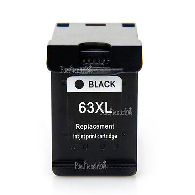 Black Colour Ink for HP 63XL Deskjet 2130 2131 3630 3632 Officejet 3830 4650