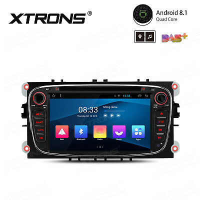 XTRONS Android 7.1 Car DVD Player GPS Navi HDMI Radio OBD2 for Ford Focus S-Max