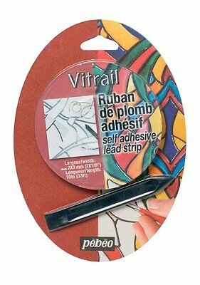 Pebeo Vitrail Stained Glass Effect Self Adhesive Lead Strip