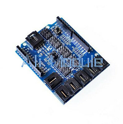 New Sensor Shield V4 Digital Analog Module For Arduino Duemilanove / UNO