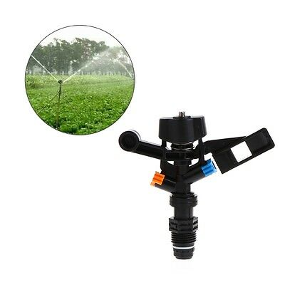 180 Degree Rotary Garden Lawn Sprinkler Head Irrigation Nozzle Water Hose 1/2""