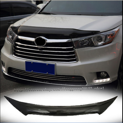 For Toyota Highlander 2015-2017 Front Engine Hood Protective Streamer Cover Trim