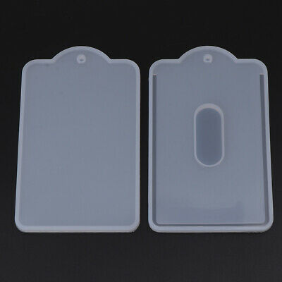 Card Set Case Holder Silicone Mold Jewelry Making Resin Craft Handmade DIY Tool